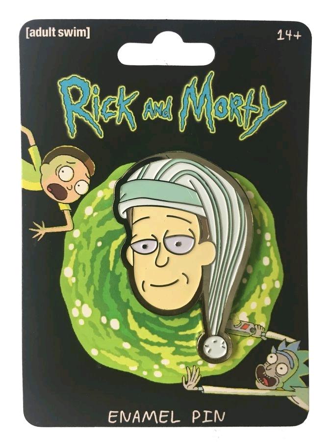Rick & Morty - Sleepy Garry Enamel Pin image