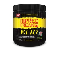 Ripped Freak Keto Pre-Workout - Sour Watermelon (30 Serves)