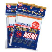 KMC: Mini Hyper Matte Sleeves 60ct (Clear)