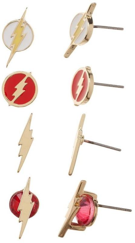 DC Comics: Flash Icon - Earring Set (4-Pack)