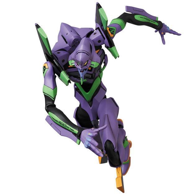 Evangelion: RAH EVA-01 Test Type (New Paint Ver.) - Action Figure