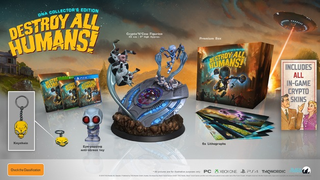 Destroy All Humans! Collector's Edition for PS4