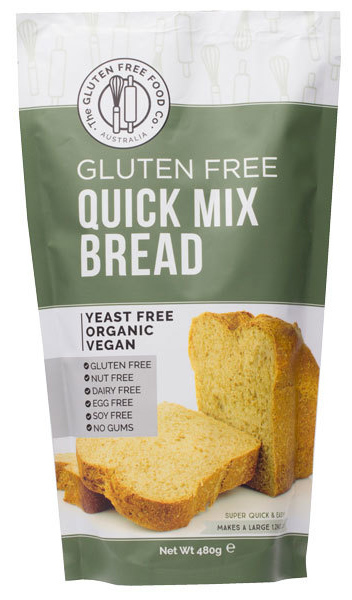 Gluten Free Quick Mix Bread (480g)