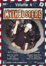 Mythbusters - Vol. 6 on DVD