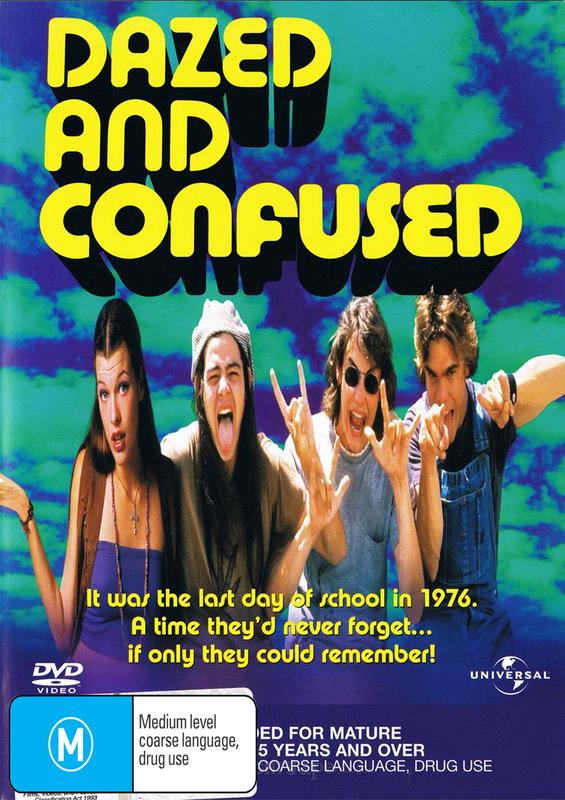 Dazed & Confused on DVD