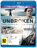 Unbroken on Blu-ray, UV