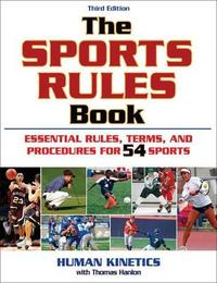 The Sports Rules Book by Tom Hanlon image