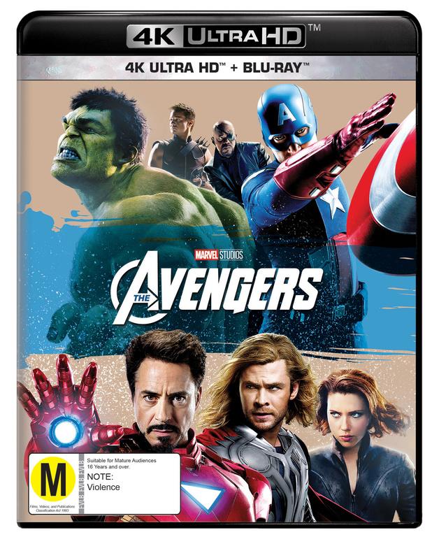 The Avengers on UHD Blu-ray