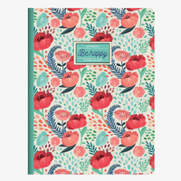 Legami: B5 Lined Notebook - Flower