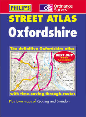 Oxfordshire Street Atlas by Great Britain image
