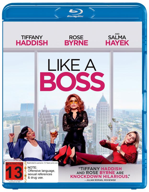 Like A Bo$$ on Blu-ray
