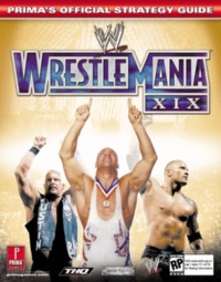 WWE Wrestlemania XIX - Prima Official Guide for GameCube image