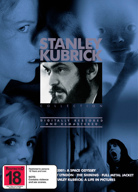 The Stanley Kubrick Collection (5 Disc Set) on DVD