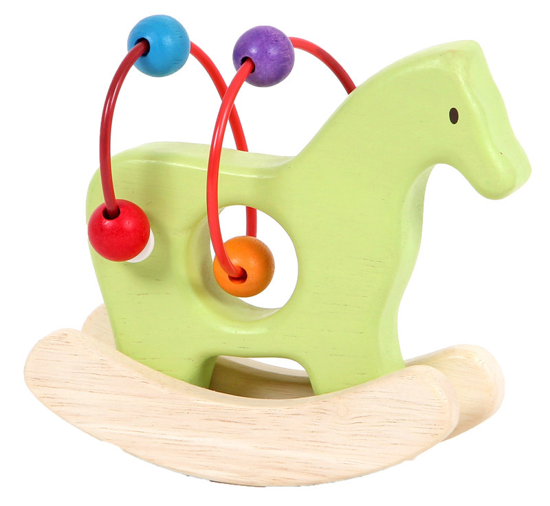 Mamagenius: Rocking Horse Bead Rattle image