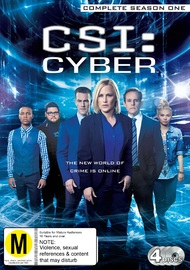 CSI: Cyber - Complete Season One on DVD