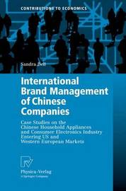 International Brand Management of Chinese Companies by Sandra Bell