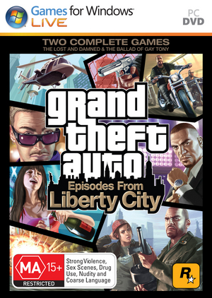 Grand Theft Auto: Episodes from Liberty City for PC image