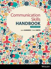Communications Skills Handbook by Jane Summers