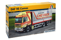 Italeri 1:24 DAF 95 Canvas Truck Model Kit image