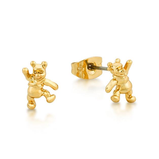 Couture Kingdom: Disney Junior Winnie the Pooh Studs - Yellow Gold