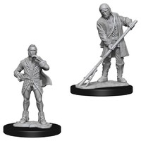 Pathfinder Deep Cuts: Unpainted Miniatures - Farmer/Aristocrat