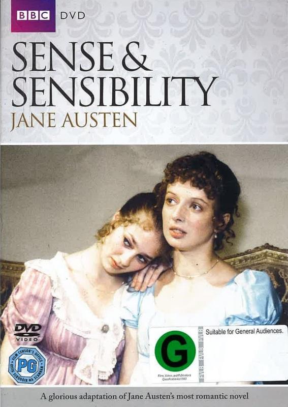 Sense And Sensibility on DVD