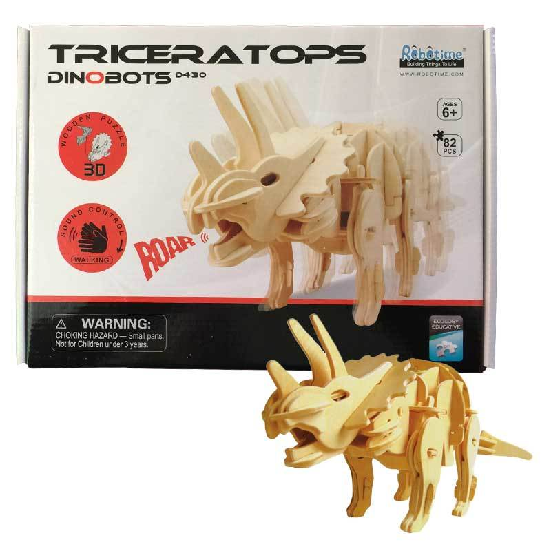 Robotime: Triceratops image