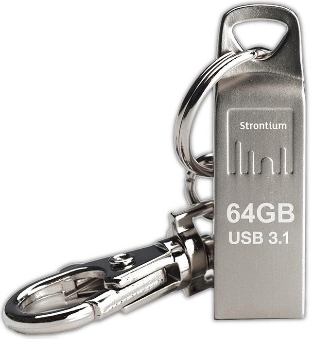 Strontium 64GB Ammo Metallic USB 3.1 Drive image