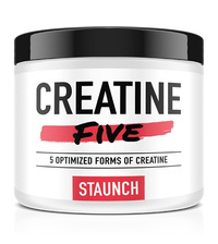 Staunch Nutrition Creatine Five - Unflavored (50 Serve)