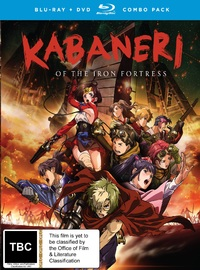 Kabaneri of the Iron Fortress - Complete Series on DVD, Blu-ray