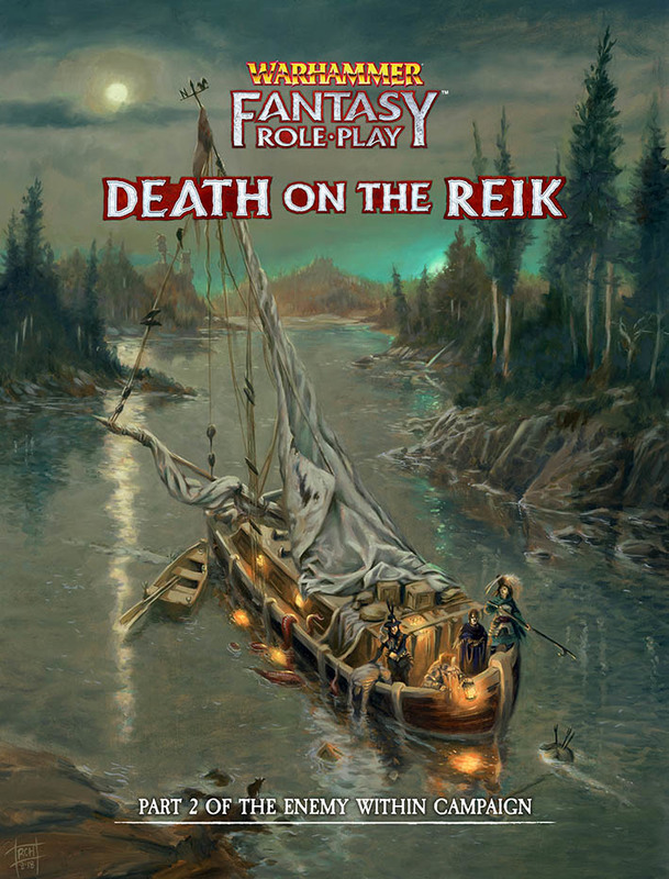 Warhammer: Fantasy RPG - Enemy Within Collector's Edition - Vol. 2: Death on The Reik