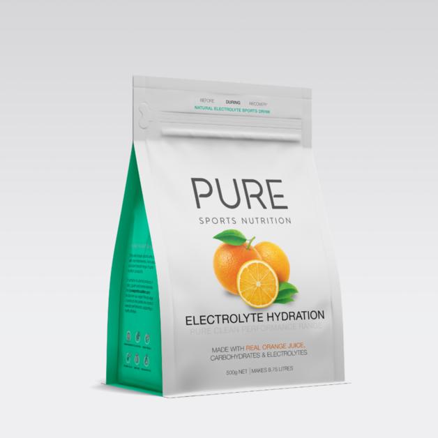 PURE Electrolyte Hydration Pouch - Orange (500g)