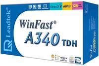 Leadtek Graphics Card WinFast A340 TDH 256M FX5200 AGP image