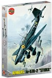 Airfix Junkers Ju 87B Stuka Military Aircraft 1:24 Model Kit