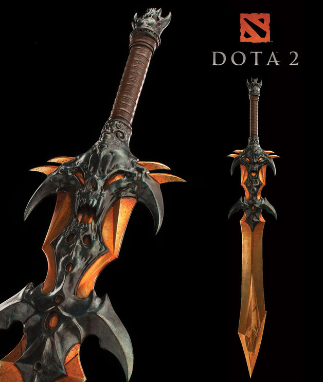 "Dota 2 Demon Edge Sword 50"" Prop Replica - by Weta"