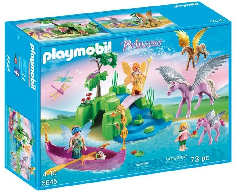 Playmobil: Fairies and Pegasus Club Set (5645) | Toy