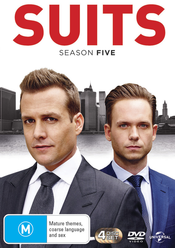Suits - Season Five on DVD