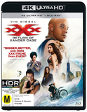 xXx: The Return Of Xander Cage (4K UHD + Blu-ray) DVD