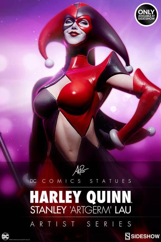 "DC Comics: 17"" Harley Quinn - Artist Series Statue"