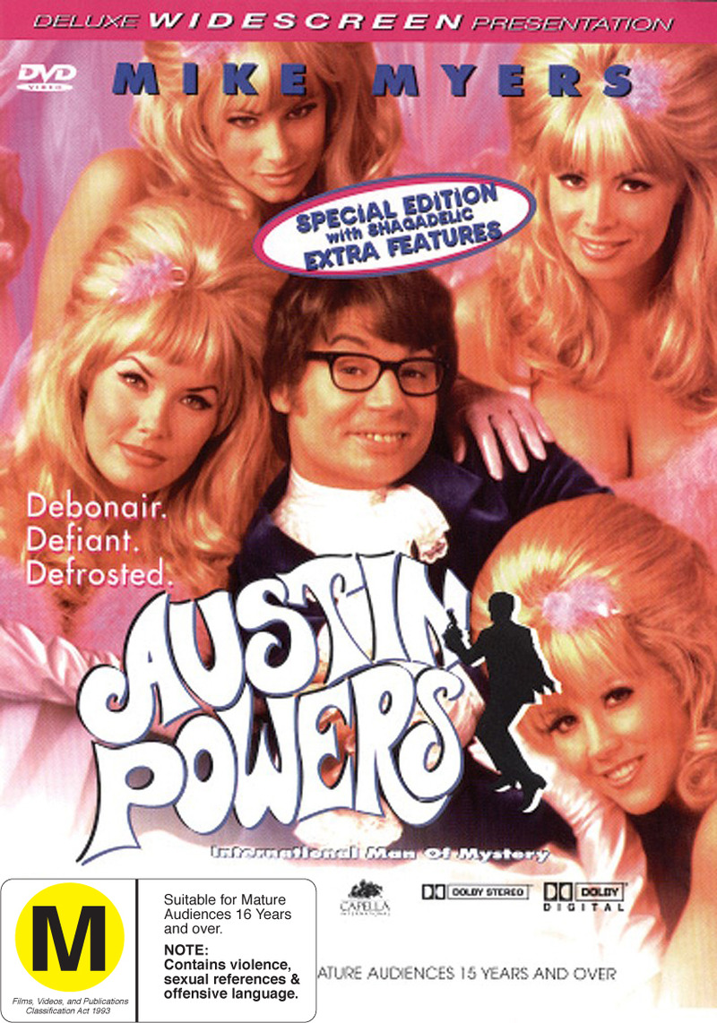 Austin Powers - International Man of Mystery on DVD image