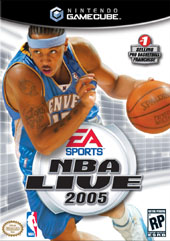 NBA Live 2005 for GameCube
