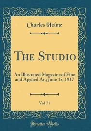 The Studio, Vol. 71 by Charles Holme image