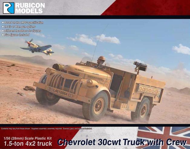 Rubicon 1/56 Chevrolet WB 30cwt Truck