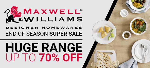 Maxwell & Williams SUPER Sale!