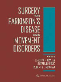 Surgery for Parkinson's Disease and Movement Disorders by Joachim K. Krauss image
