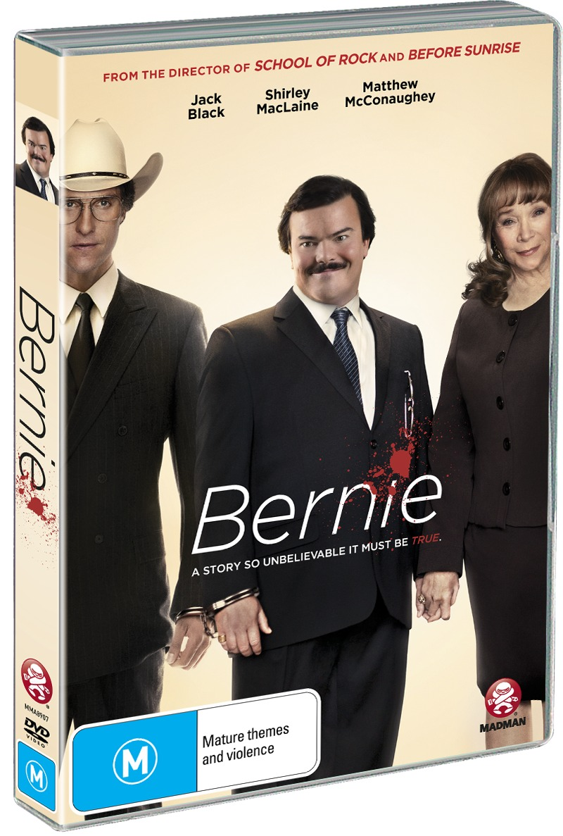 Bernie on DVD image