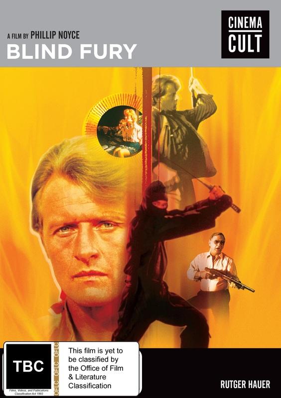 Blind Fury on DVD