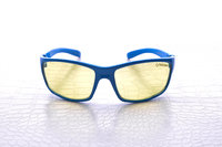 NoScope Minotaur Computer Gaming Glasses - Tsunami Blue for PC Games