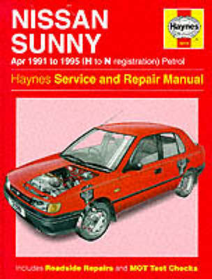 Nissan Sunny (91-95) Service and Repair Manual by A.K. Legg image