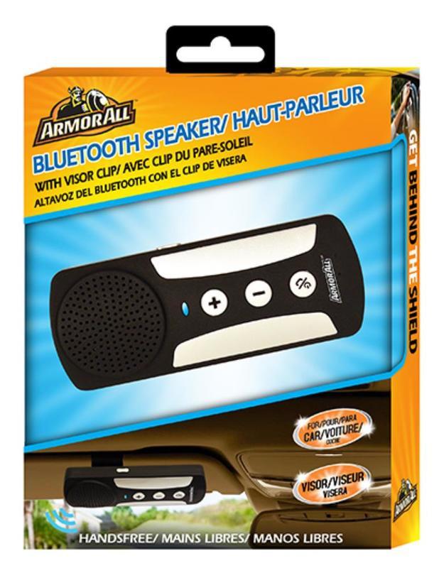Armor All: Handsfree Bluetooth Speakerphone w/ Visor Clip